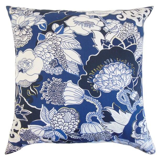 Dariela Floral Throw Pillow Cover