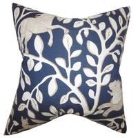 Jorja Foliage Throw Pillow Cover