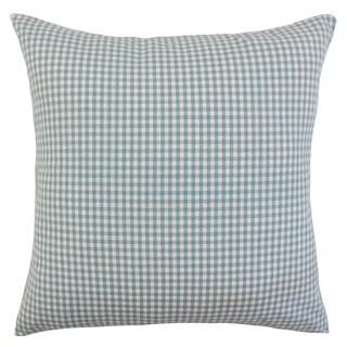 Keats Plaid Throw Pillow Cover