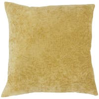 Hertzel Solid Throw Pillow Cover