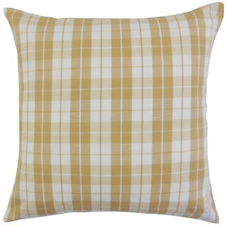 Joss Plaid Throw Pillow Cover
