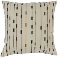 Wanbli Stripes Throw Pillow Cover Tiki