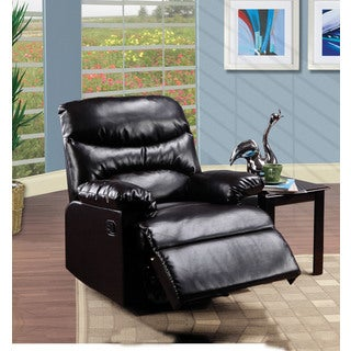 Arcadia Espresso Bonded Leather/Wood/Metal/Foam Recliner