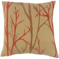 Ryne Foliage Throw Pillow Cover