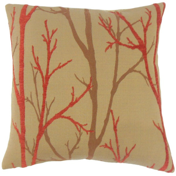 Ryne Foliage Throw Pillow Cover