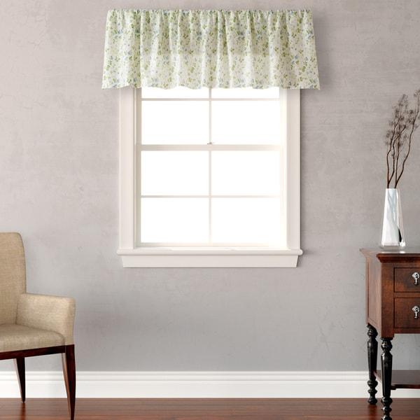 Laura Ashley Home Whitfield Drape Panels Reviews: Shop Laura Ashley Spring Bloom Cotton Valance