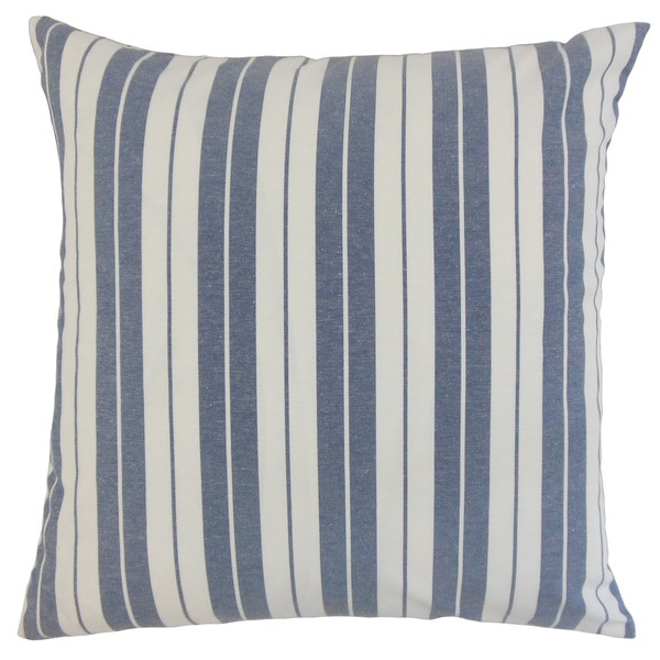 Henley Stripes Throw Pillow Cover