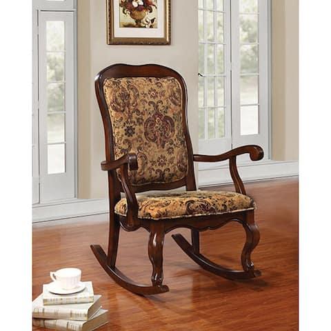 Sharan Cherry Rocking Chair