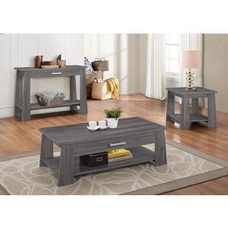 Falan Dark Gray Sofa Table