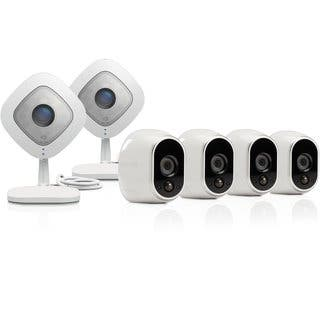 Arlo Smart Security System with 4 Arlo and 2 Arlo Q Cameras (VMK3500)|https://ak1.ostkcdn.com/images/products/12016454/P18891978.jpg?impolicy=medium