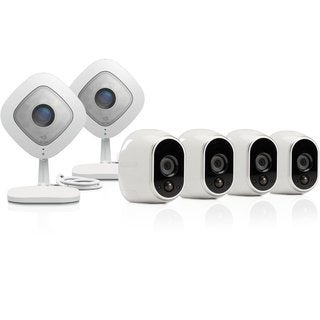 Arlo Smart Security System with 4 Arlo and 2 Arlo Q Cameras (VMK3500)