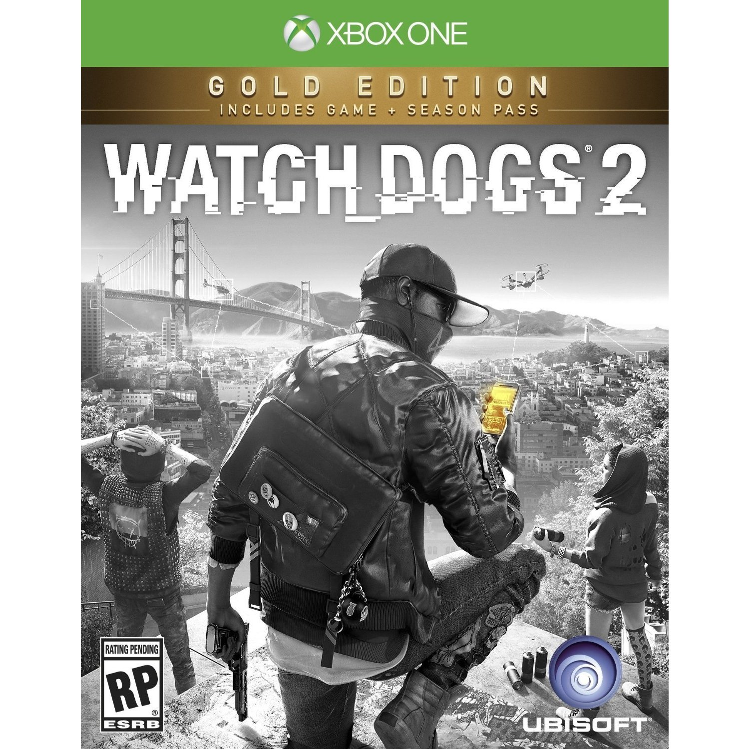 Ubisoft Watch Dogs 2 Gold Edition - Xbox One