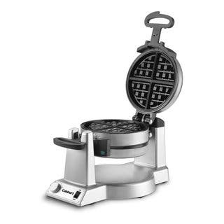 Cuisinart WAF-F20 Stainless Steel Double Belgian Waffle Maker|https://ak1.ostkcdn.com/images/products/12017169/P18892524.jpg?impolicy=medium