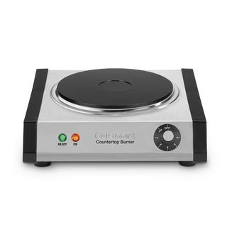 Cuisinart CB-30 Stainless Steel Cast-Iron Single Burner