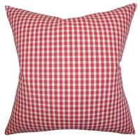 Jhode Plaid Throw Pillow Cover