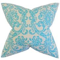Saskia Damask Throw Pillow Cover