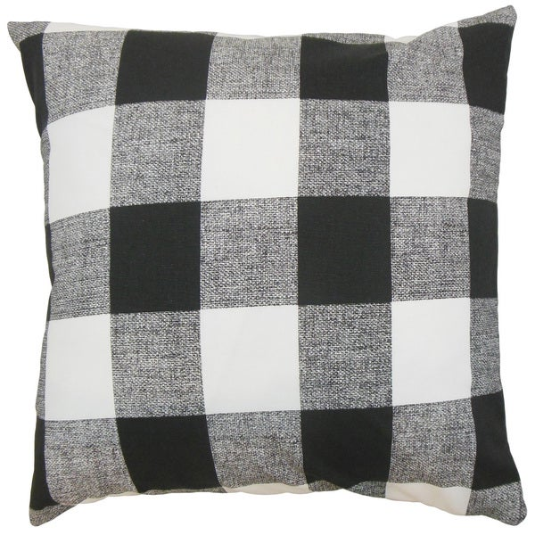 Alfonso Plaid Throw Pillow Cover