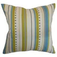 Hearst Stripes Throw Pillow Cover