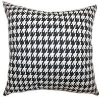 Ceres Houndstooth Throw Pillow Cover