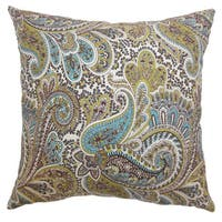 Dorcas Paisley Throw Pillow Cover