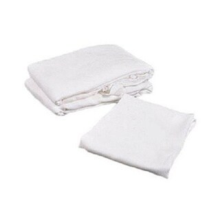 Birdseyes 100-percent Cotton 27-inch x 27-inch Flat Cloth Diapers (Pack of 6)