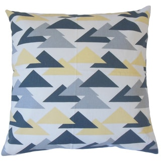 Wyome Geometric Throw Pillow Cover Luster