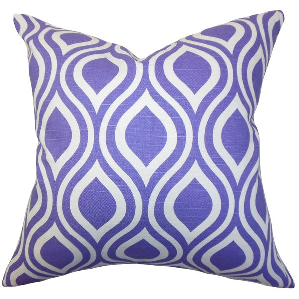 Poplar Geometric Throw Pillow Cover