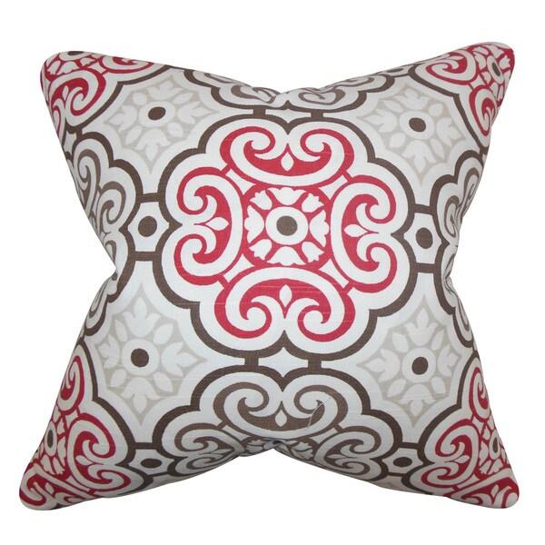 Nascha Geometric Throw Pillow Cover