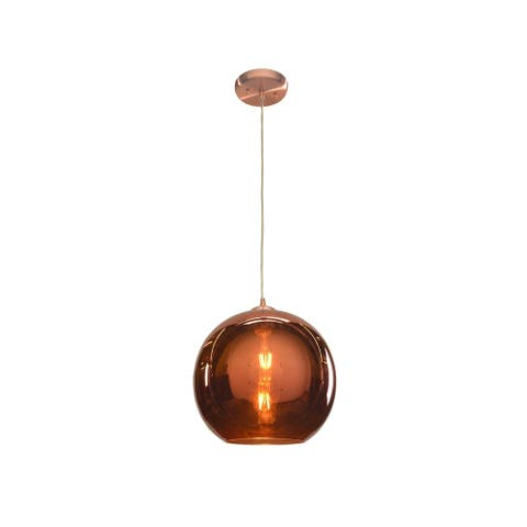 Access Lighting Glow Brushed Copper 12 inch Pendant