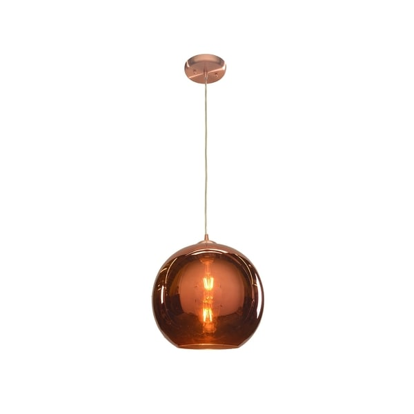 Access Lighting Glow Brushed Copper 12 inch Pendant. Opens flyout.