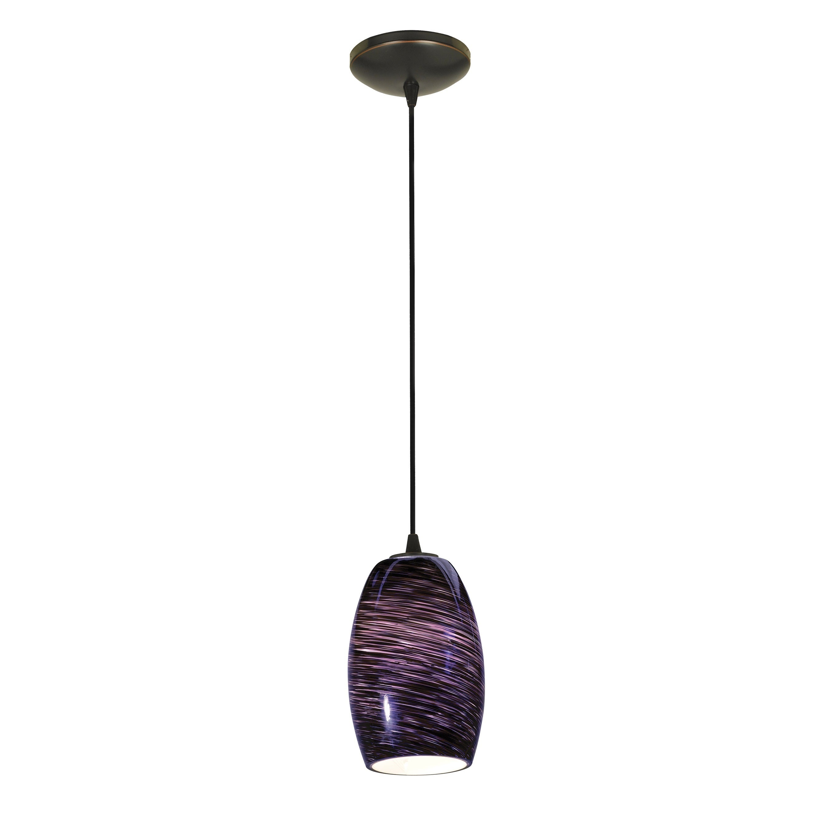 Access Lighting Chianti Bronze Integrated LED Cord Pendan...