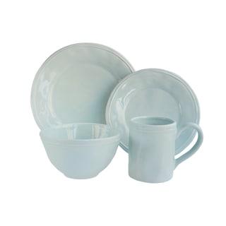 American Atelier Taylor Blue/White Earthenware Dinnerware (Case of 16)
