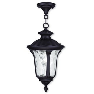 Livex Lighting Oxford Bronze 1-light Outdoor Chain Lantern
