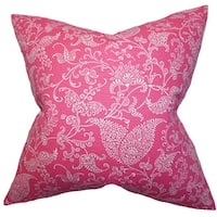 Aderyn Paisley Throw Pillow Cover