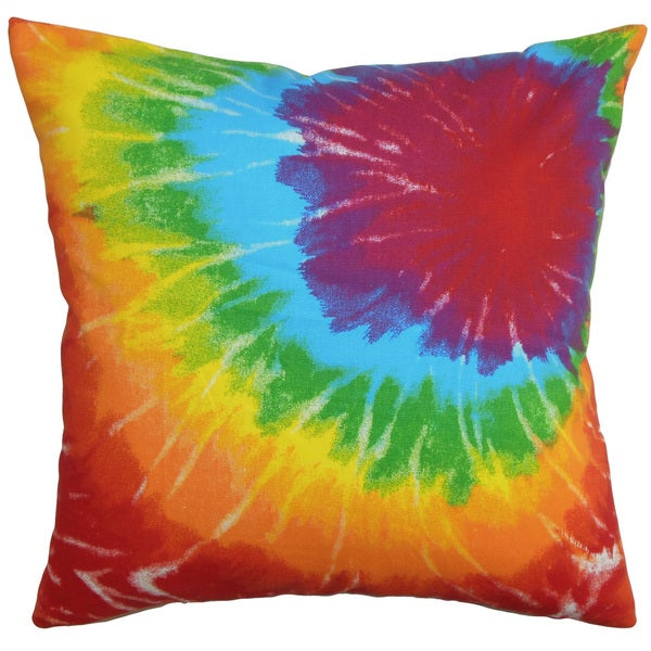 Betrys Tie Dye Throw Pillow Cover