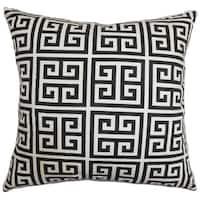 Paros Greek Key Throw Pillow Cover