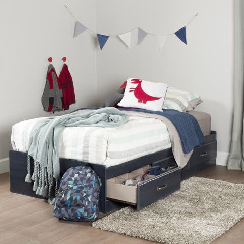 South Shore Ulysses 3-drawer Twin Mates Bed