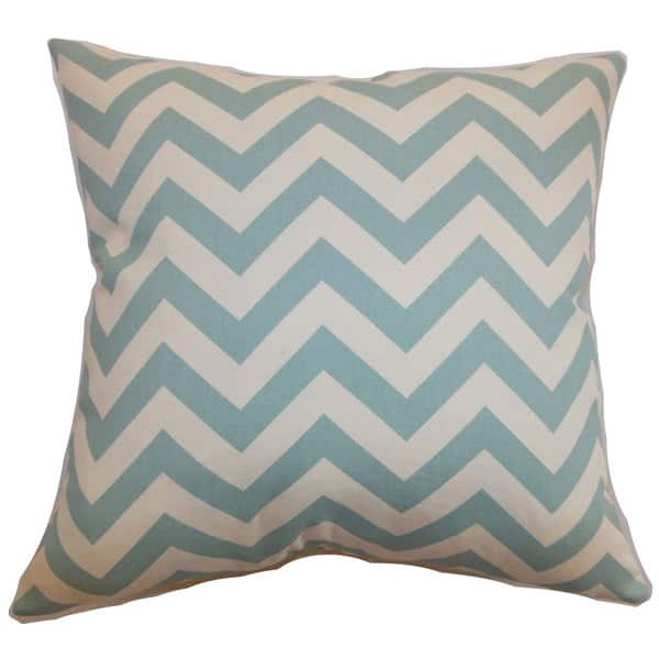 Shop Black Friday Deals On Xayabury Zigzag Throw Pillow Cover Overstock 12019263