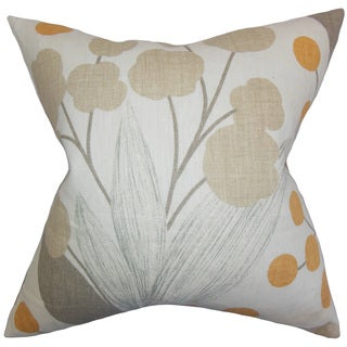 Geneen Floral Throw Pillow Cover Sp