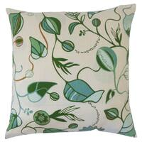 Qiana Floral Throw Pillow Cover