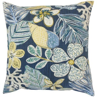 Fel Floral Throw Pillow Cover