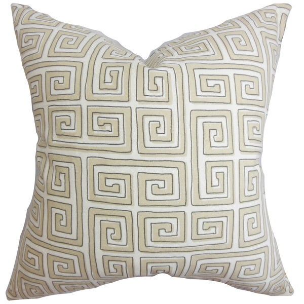 Klemens Geometric Throw Pillow Cover