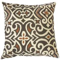 Caraf Damask Throw Pillow Cover