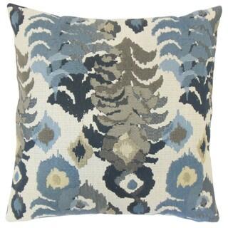 Henriette Ikat Throw Pillow Cover