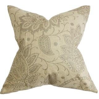 Eroica Floral Throw Pillow Cover
