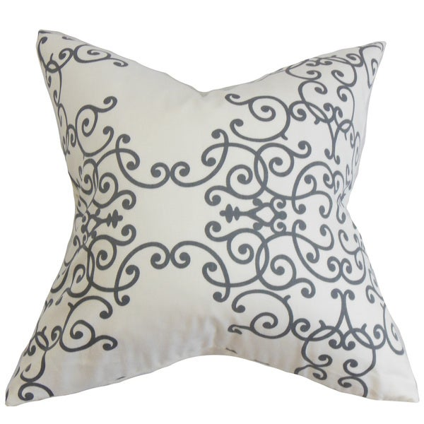 Fianna Floral Throw Pillow Cover