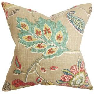 Jora Floral Throw Pillow Cover