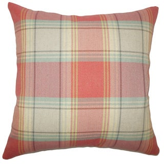 Cagney Plaid Throw Pillow Cover