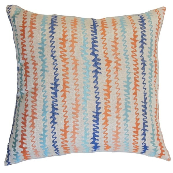 Malu Zigzag Throw Pillow Cover