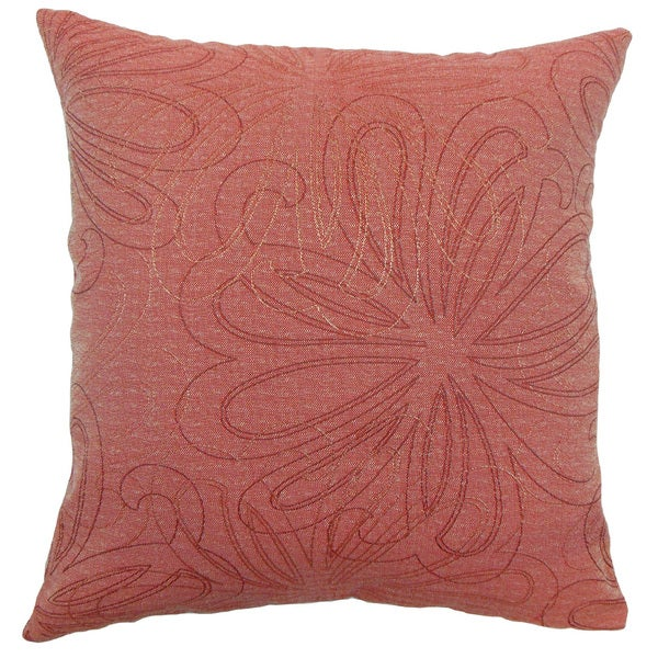 Pomona Floral Throw Pillow Cover